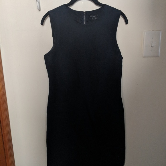510b49ad8b0 Theory Dresses | Sleeveless Navy Blue Dress | Poshmark